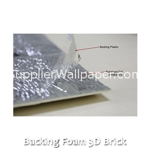 Backing Foam 3D Brick