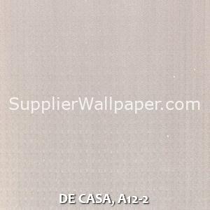 DE CASA, A12-2