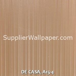DE CASA, A15-4