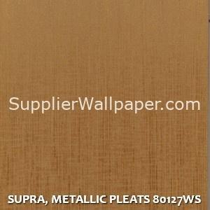 SUPRA, METALLIC PLEATS 80127WS
