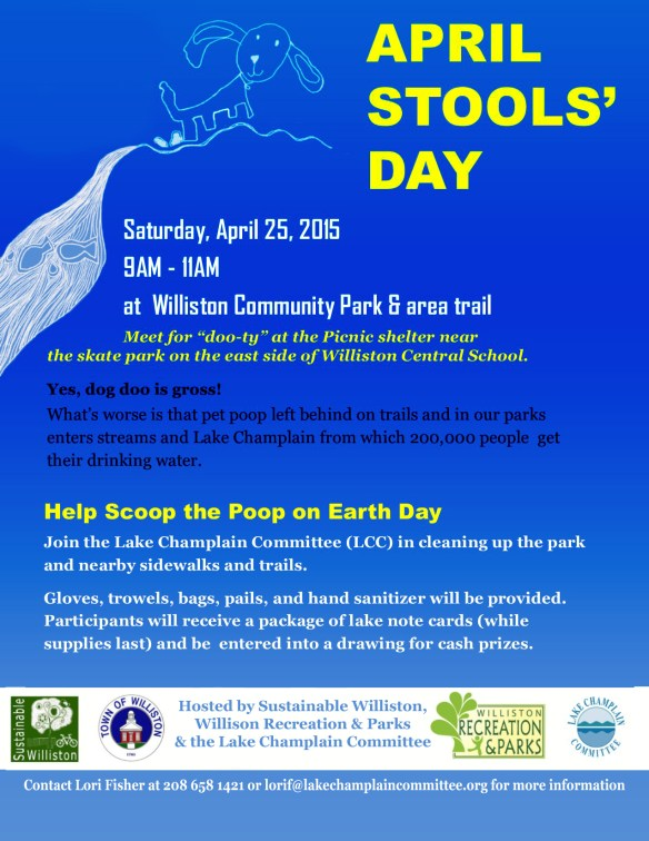 April Stool's Day Poster