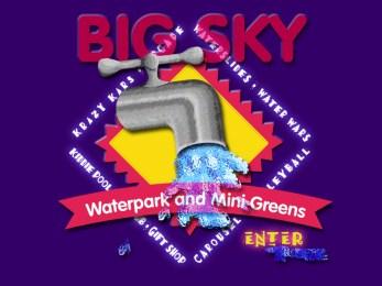 BigSky Waterpark Logo Design