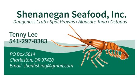 Shenanigans Seafood, Inc : Illustration, Logo Design, Business Card