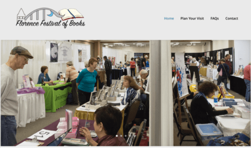Florence Festival of Books, Florence Oregon