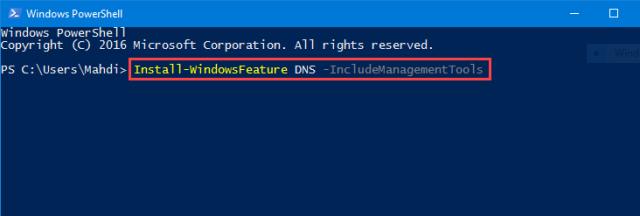 Install DNS Server