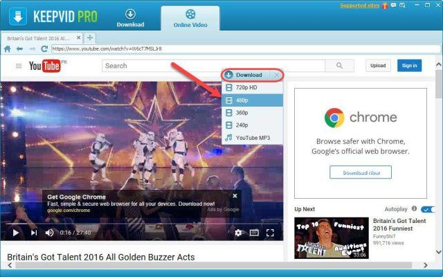 Download Music & Videos online via KeepVid Pro