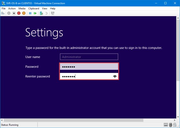 Assign Password