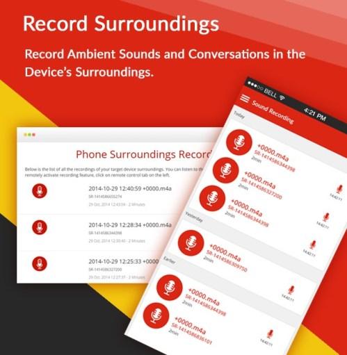Record Surroundings
