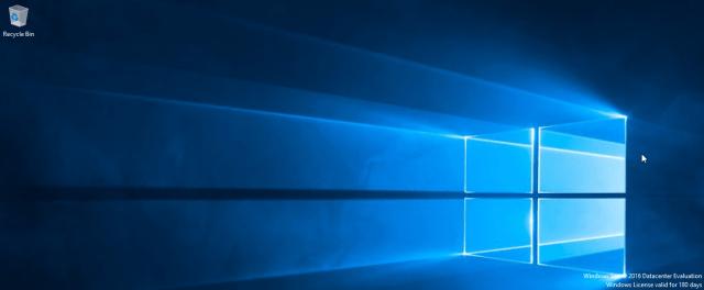 Windows Server 2016 Desktop