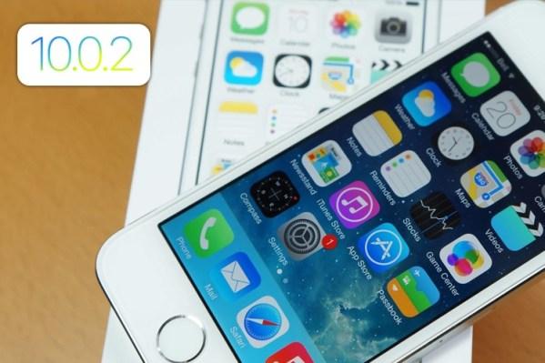 iPhone 5S Running iOS 10.0.2