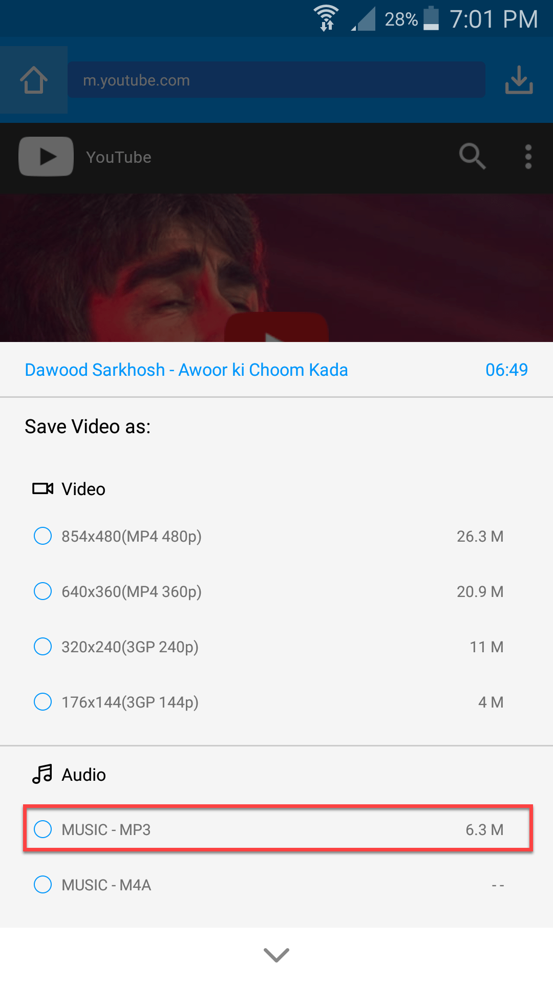 How To Download YouTube Videos On Android Via KeepVid