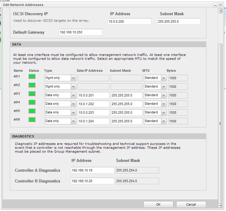 Nimble-IP-Addresses Upgrading Nimble CS Array - DON'T PANIC