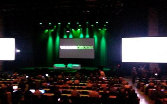 BzRwsB_CYAA6b-7 Tweet: #veeamon Day 1 - Partner Keynote about to start. h...