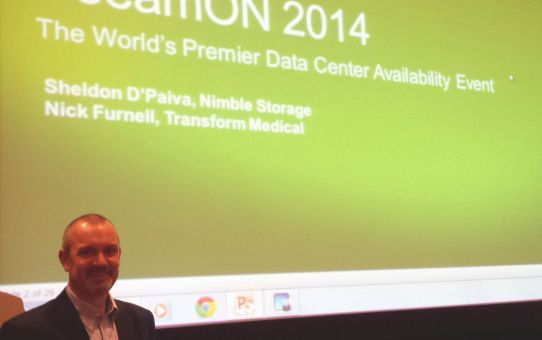 Vegas-Presentation-3 VeeamOn 2014 Presentation with Nimble Storage