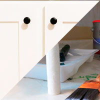 Shaker Kitchen Cabinet Update – painting hints - The DIY Girl