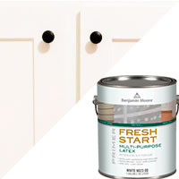 Shaker Kitchen Cabinet Update – painting prep - The DIY Girl
