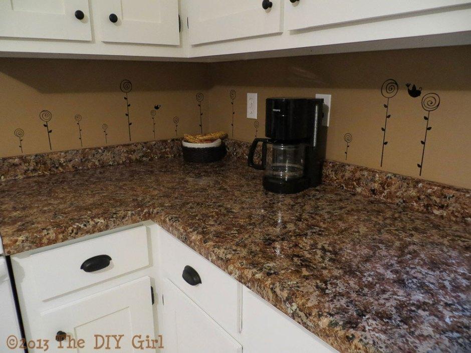 70 Countertop Fix Giani Granite Paint Part 2 The Diy Girl