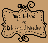Ninja NJ600 vs Kitchenaid Blender Reivew - The DIY Girl