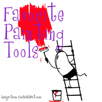Favorite paint tools - The DIY Girl