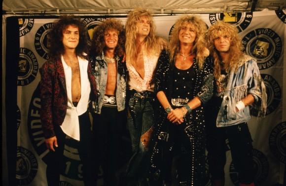 The Rock Group Whitesnake Attends the MTV Music Awards