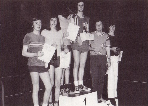 Stadtmeister Jungen-Doppel 1973: J. Huck-Hallwachs & Steffen Marstaller