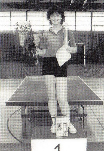 Stadtmeister Damen-Einzel 1986: Isolde Schütz