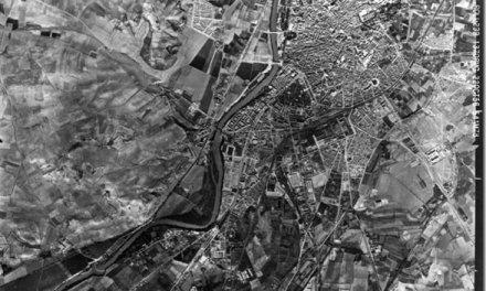 Valladolid en 1956 Fotografía aérea
