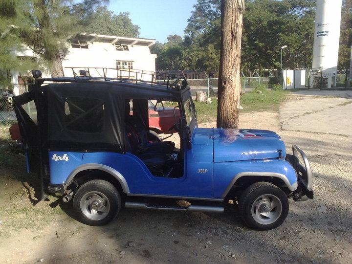 Jeep decomisado a Álvarez Sánchez