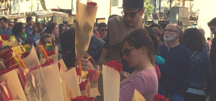 Las Ramblas zu St. Jordi in Barcelona