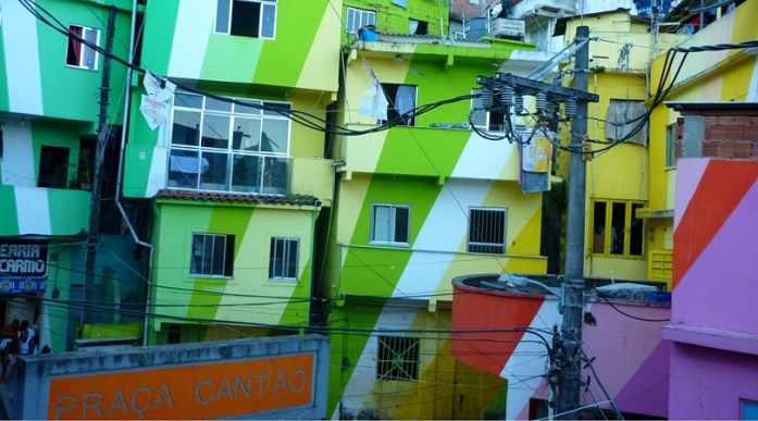 Favela Painting Santa Marta