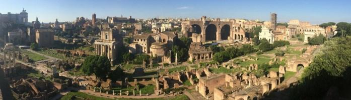 Forum Romanum Panorama Ansicht