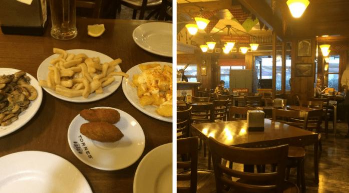 Beliebtes Tapas Restaurant in Barcelona