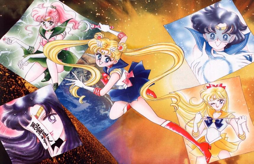 The Five Inner Senshi