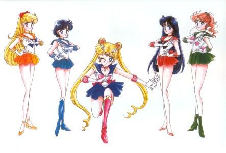 The Full Sailor Team Assembled