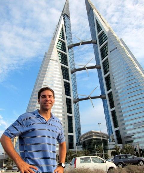 Bahrain World Trade Center - Twin skyscrapers