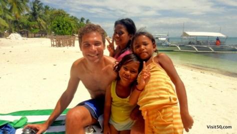 my new friends on Malapascua island, Philippines