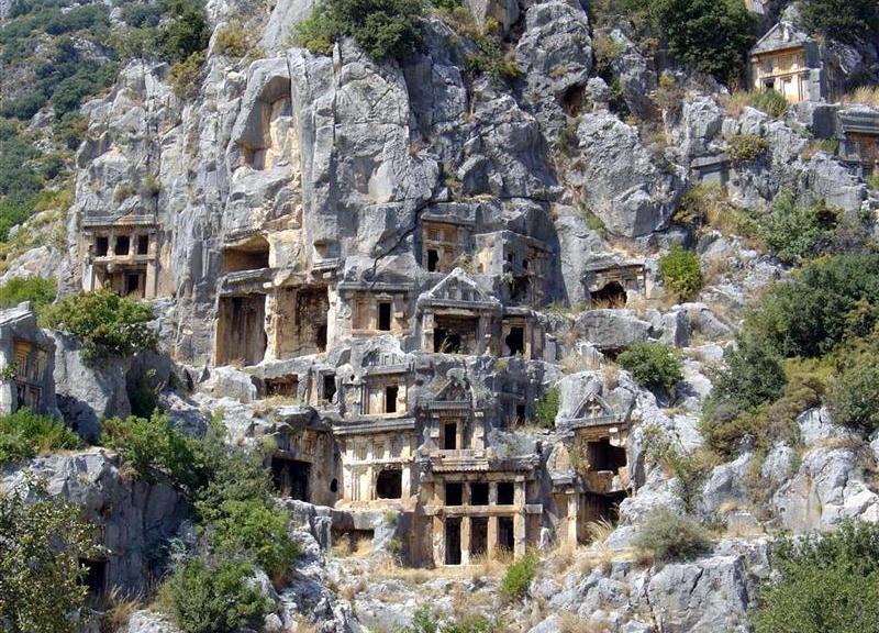Myra ruins in Antalya