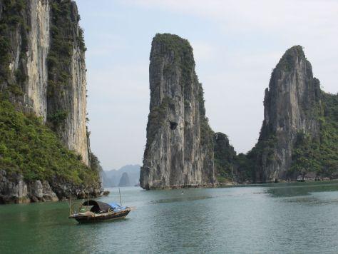 Halong Bay Vietnam limestone