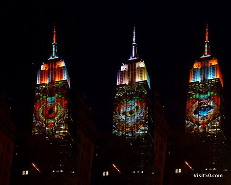 Endangered Animals on Empire State Building -008