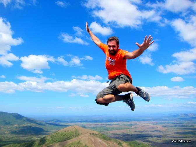 Volcano Jumping! - Volcan Cerro Negro