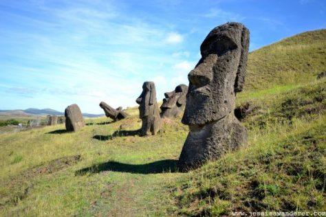 Quarry Easter Island