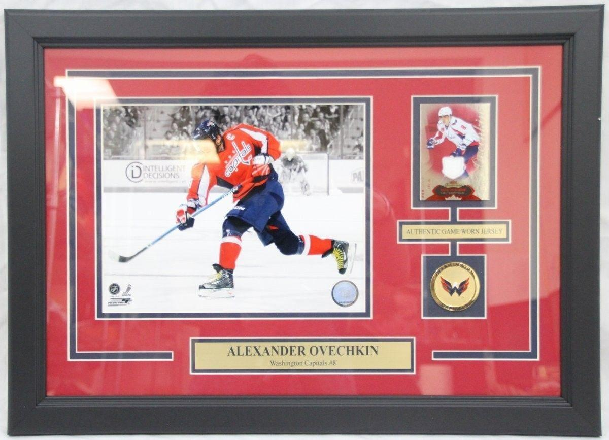 promo code 84bc8 f9218 Alexander Ovechkin Capitals Game Worn Jersey Card Framed Collage NR02036776  · The World Table Hockey Association, Inc.