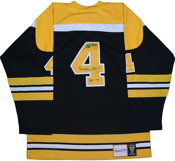 101760792 Bobby Orr Boston Bruins Signed Mitchell & Ness Jersey HOF-79 #/444: GNR COA  · The World Table Hockey Association, Inc.