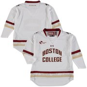 Boston College Eagles Under Armour Youth Replica Hockey Jersey - White