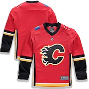 Calgary Flames Fanatics Branded Youth Home Replica Blank Jersey - Red