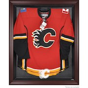 Calgary Flames Mahogany Framed Jersey Display Case