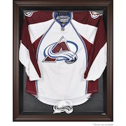 Colorado Avalanche Brown Framed Logo Jersey Display Case