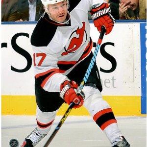 Ilya Kovalchuk New Jersey Devils White Jersey Slap Shot 16x20 Photo uns (Getty# 97840761)- PF