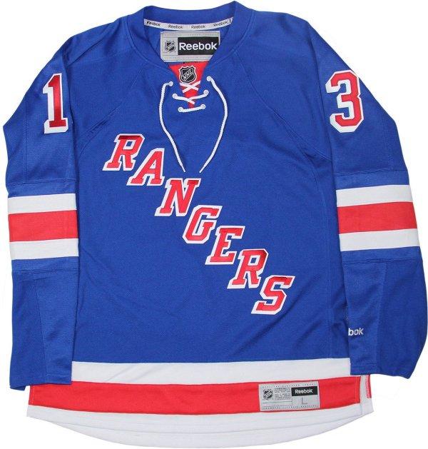 big sale b6bf6 fc749 Kevin Hayes New York Rangers Blue Premier Jersey