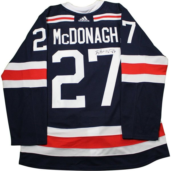 a4620c2aa3a Ryan McDonagh New York Rangers Signed 2018 NHL Winter Classic Jersey · The  World Table Hockey Association, Inc.